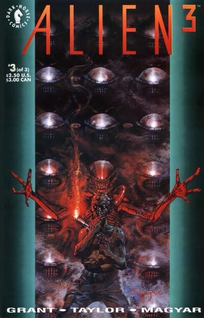 Alien 3 #3 (of 3) - обложка