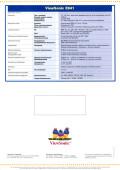 ViewSonic E641 - страница