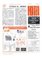 """""""ЮТ"""" для умелых рук 09.1981 скачать бесплатно или читать онлайн"""