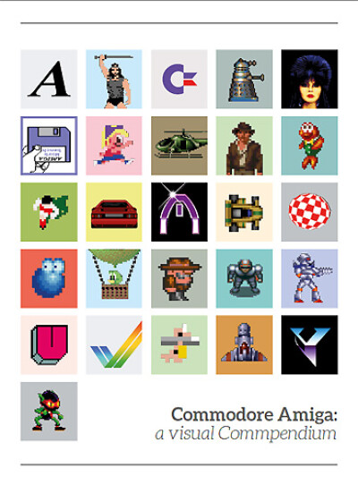 Sam Dyer — Commodore Amiga: a visual Commpendium - обложка
