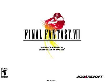 Скачать книгуFinal Fantasy VIII Owner's Manual and Mini-Walkthrough