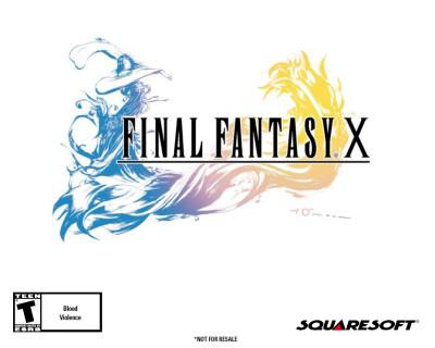 Final Fantasy X - обложка