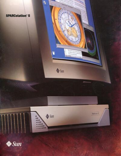 Sun SPARCstation 5 - обложка
