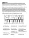 Аналоговый синтезатор Moog Matriarch — инструкция на русском языке - страница