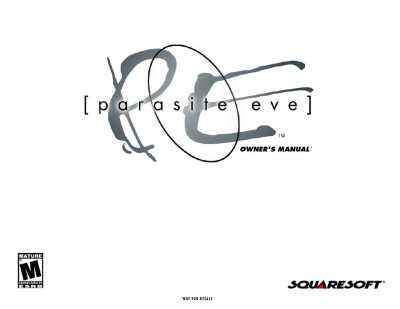 Parasite Eve – Owner's Manual - обложка