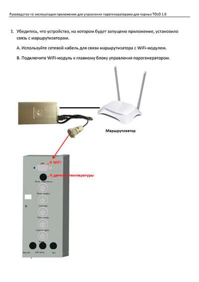 Wi-Fi контроллер парогенераторов Steamtec TOLO — инструкция на русском языке - обложка