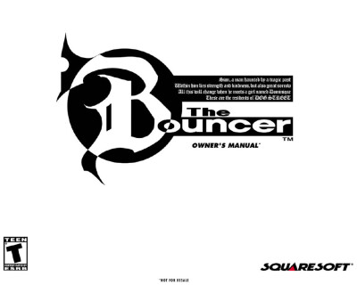 Скачать книгуThe Bouncer — Owner's Manual