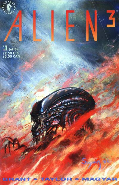 Alien 3 #1 (of 3) - обложка