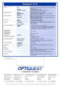 Optiquest V115 - страница