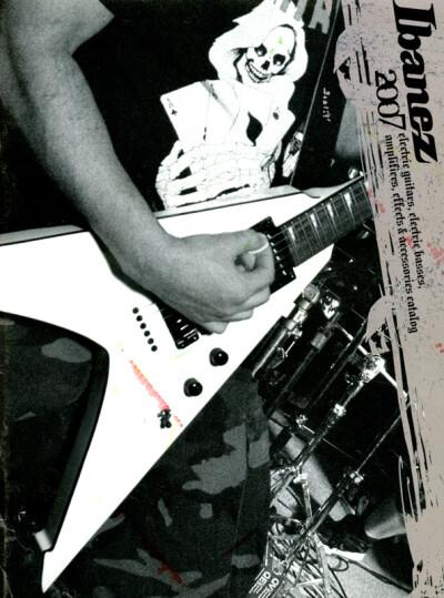 Ibanez 2007 - обложка